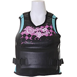 Gator Boards Argyle-icious Women's Pullover Wakeboard Vest (Large)