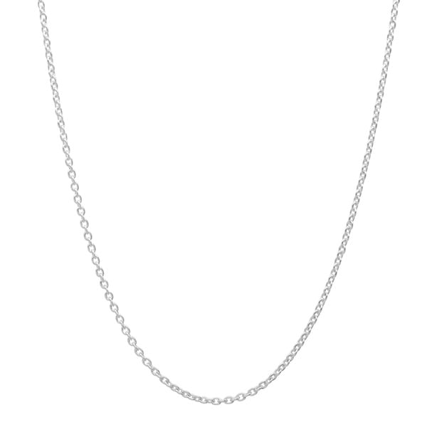 Sterling Essentials Silver 1 mm Cable Chain (16-24 Inch )