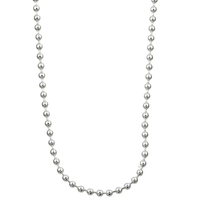 Sterling Essentials Sterling Silver 20-inch Bead Chain (1.5mm)