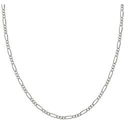 Sterling Essentials Sterling Silver 18-inch Figaro Chain (1.5mm)