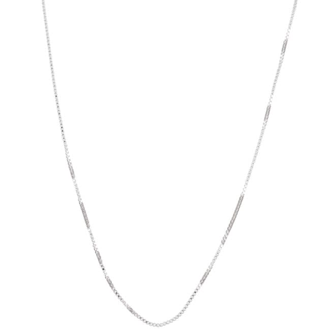 Sterling Essentials Sterling Silver 18-inch Box Chain (.70 mm)