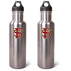 Florida State Seminoles 27-oz Stainless Steel Water Bottles (Pack of 2)
