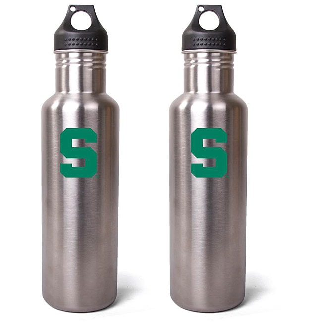 Pinemeadow Michigan State Spartans 27-oz Stainless Steel Water Bottles (Pack of 2)