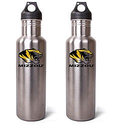 Missouri Tigers 27-oz Stainless Steel Water Bottles (Pack of 2)