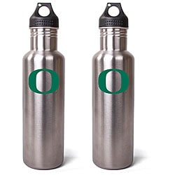 Oregon Ducks 27-oz Stainless Steel Water Bottles (Pack of 2)