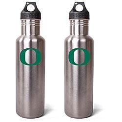 Oregon Ducks 27-oz Stainless Steel Water Bottles (Pack of 2)