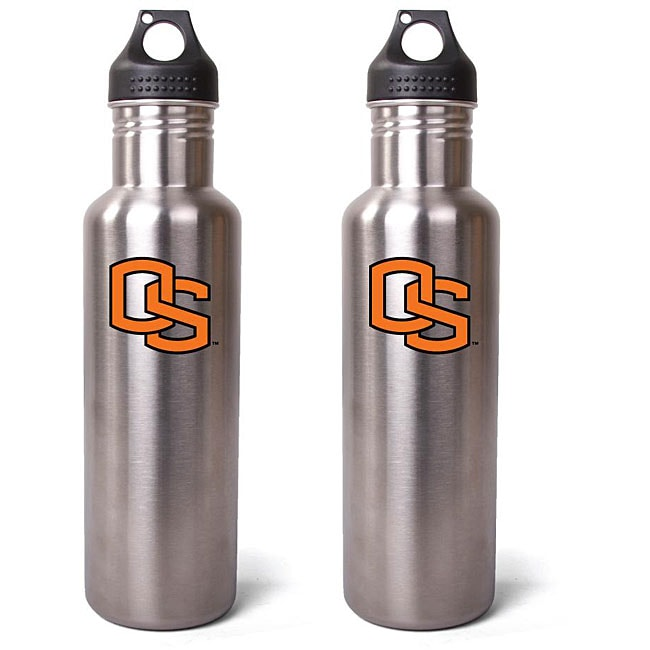 Pinemeadow NCAA Oregon State Beavers 27-oz Stainless Steel Water Bottles (Pack of 2)