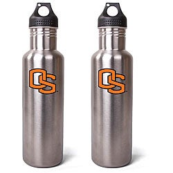 Oregon State Beavers 27-oz Stainless Steel Water Bottles (Pack of 2)