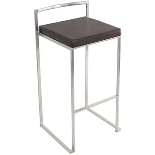 Fuji Stacker Wenge Brown Bar Stool