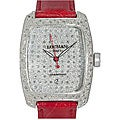 Locman Women's 'Alum' Diamond Pave Watch