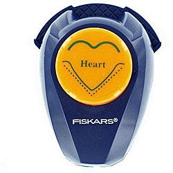 Fiskars Scrapbooking Photo Corner Heart Punch