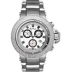Joe Rodeo Men's Razor Stainless-Steel Case Diamond Quartz Watch