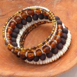 Seeds of Life Spiral Bracelet (India)