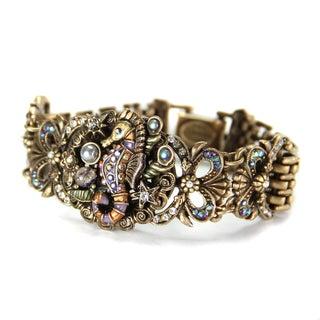 Sweet Romance Art Deco Seahorse Bracelet