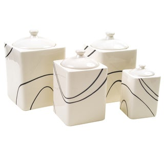 Corelle 'Simple Lines' Canister Set