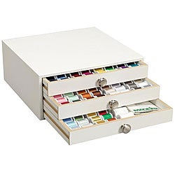 English White Ash Thread Treasure Chest/ Design Bundle