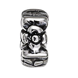 Sterling Essentials Sterling Silver Flower Spacer Bead