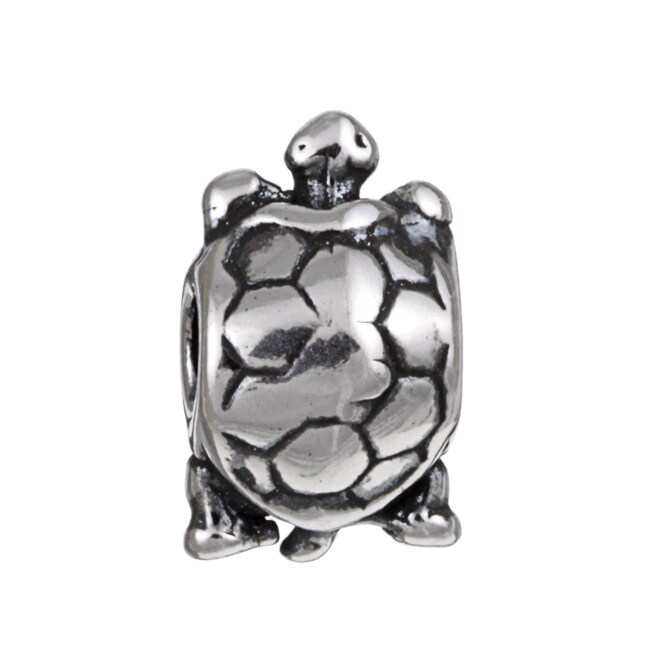 Sterling Essentials Sterling Silver Turtle Bead