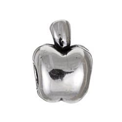 Sterling Essentials Sterling Silver Apple Bead