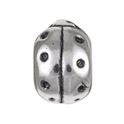 Sterling Essentials Sterling Silver Ladybug Bead