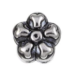 Sterling Essentials Sterling Silver Daisy Bead