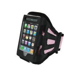 Black/ Pink Armband for Apple iPhone/ iPod Touch