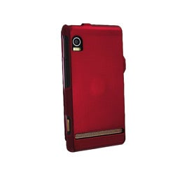 INSTEN Snap-in Rubber Coated Phone Case Cover for Motorola A855 / Tao / Sholes