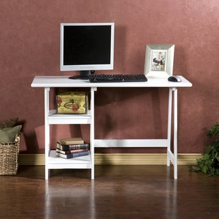 White A-frame Desk