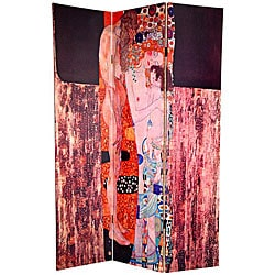 Double 6-foot Bloch-Bauer/ Three Ages of Woman Room Divider (China)