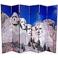 Double-sided 6-foot Mt. Rushmore/ Grand Canyon Room Divider (China)