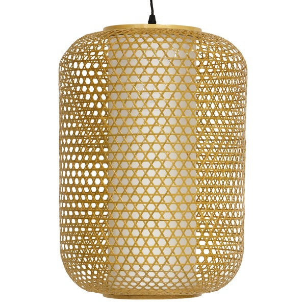 Japanese 19-inch Taka Bamboo Hanging Lantern (China)