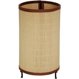 Japanese-style 11-inch Round Shika Rattan Lantern (China)