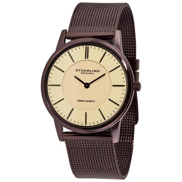 Stuhrling Original Newberry Ultra-slim Swiss Watch