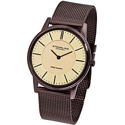 Stuhrling Original Unisex Newberry Ultra-slim Swiss Watch