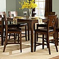 Watson Warm Brown Contemporary Counter Height Table