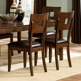 Tribecca Home Watson Open Back Casual Dining Chairs (Set of 2)