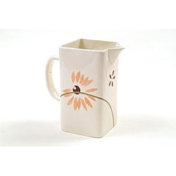 Corelle 'Pretty Pink' Ceramic Pitcher