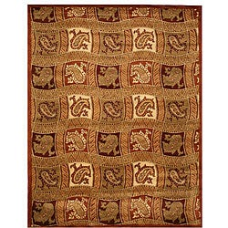 Hand-tufted Ganges Wool Rug (7'9 x 9'9)