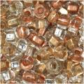 Beadaholique Czech Glass 6/0 Lot Mix 'Metallic' Seed Beads (2-oz Pack)