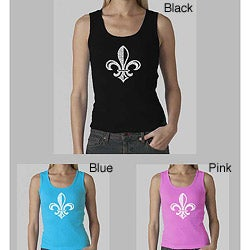 Los Angeles Pop Art Women's Fleur de Lis Tank Top