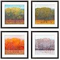 Kim Coulter ' Change of Seasons I-IV' 4-piece Giclee Art Set