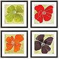 Luna Gunn 'Color Study II, III, V, VI' Giclee Framed Art (Set of 4)