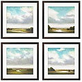 St. John 'Light Precipitation I-IV' Giclee Framed Prints (Set of 4)