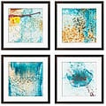 Sylvia Angeli 'Connection I, III, IV, VI' Giclee Prints (Set of 4)