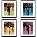 Michael Drake 'Romance' 4-piece Framed Art Set
