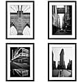 Michael Joseph 'New York Series' 4-piece Framed Art Set