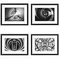 Michael Joseph 'Circular Series I-IV' 4-piece Framed Art Set