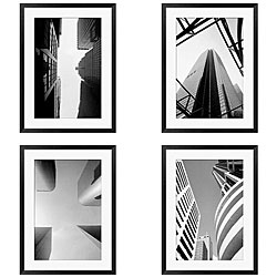 Michael Joseph 'Architectural Series I-IV' 4-piece Framed Art Set