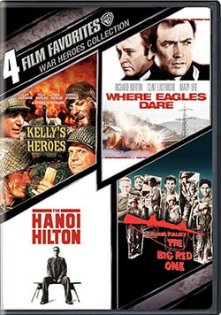 4 Film Favorites: War Heroes (DVD)
