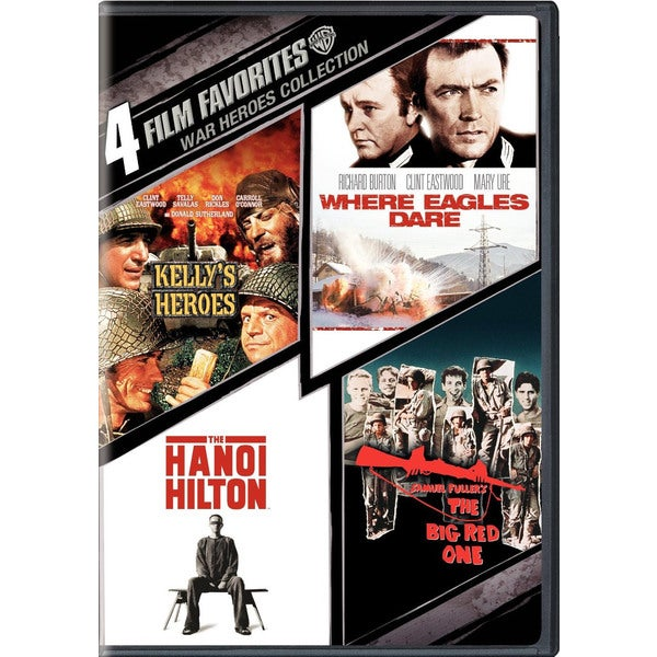 4 Film Favorites: War Heroes (DVD) 6504620